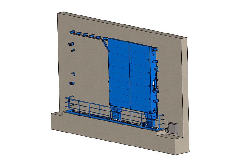 Structural Analysis of Shielding Door