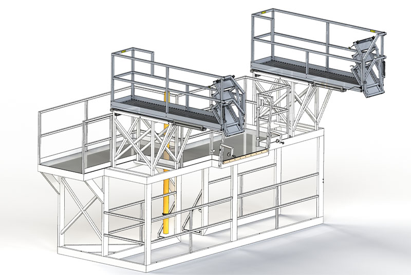 Platforms & Ladders