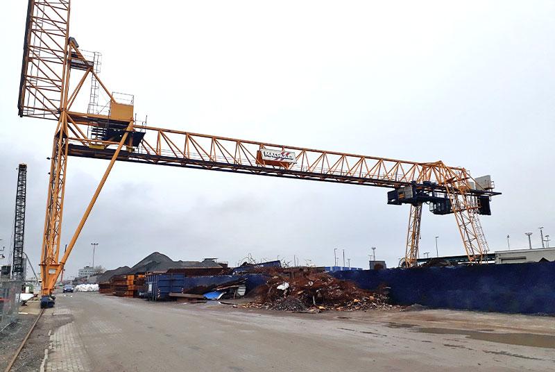Structural Analysis of a Gantry Crane